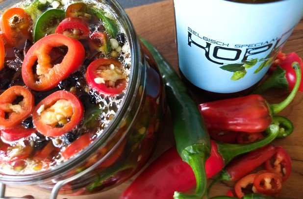 Hoplex Pickled Chilli Peppers